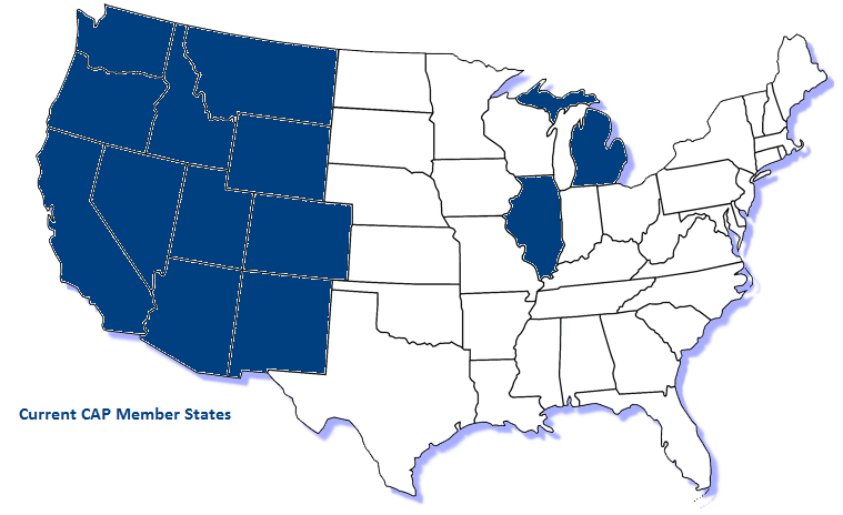 Current Consolidated Agency Partners States
